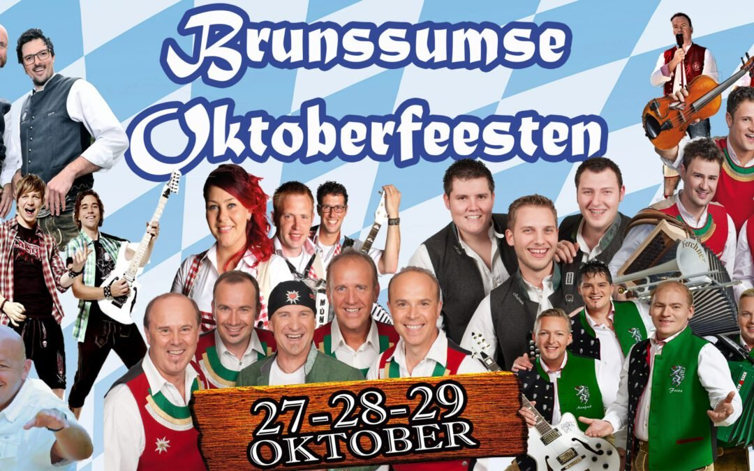 Party Kryner op het Oktoberfeest in Brunssum