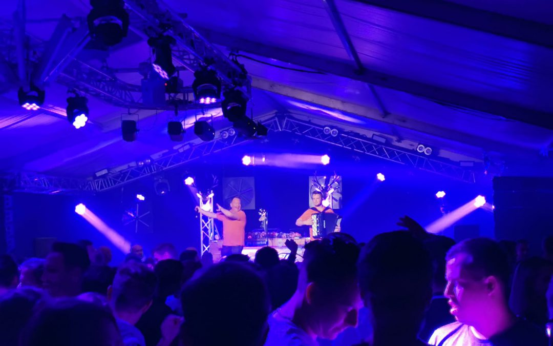 Party Kryner live in Neede bij Sen '76 zomerfeesten