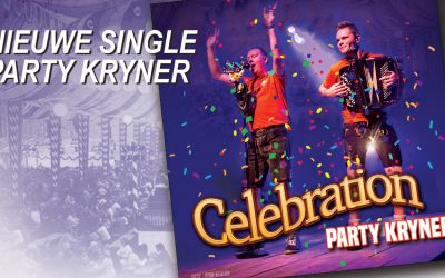 "Party Kryner viert start van jubileum jaar met nieuwe single ""Celebration"""